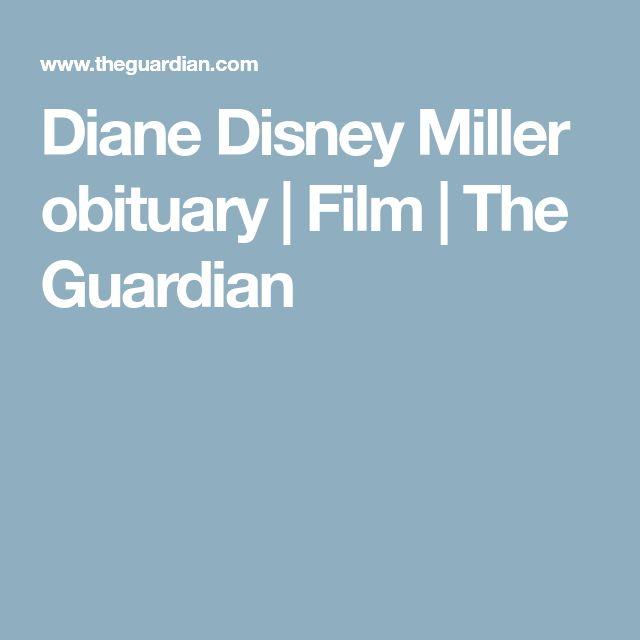 Diane Disney Miller obituary   Film   The Guardian