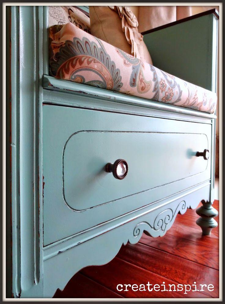 {createinspire}: Dresser turned Bench
