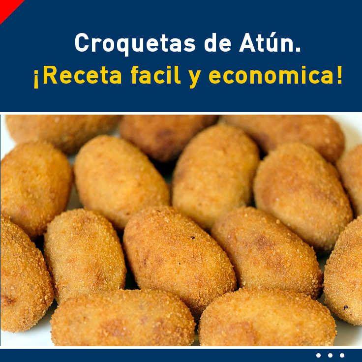 Croquetas de Atún. ¡Receta facil y economica! #croquetas #atun #receta #fácil #rapida #tutorial #video #cena