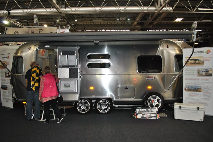 Glossop Awnings on Twitter: The #airstream stand looking very american retro :) a nice change to all the uk styles