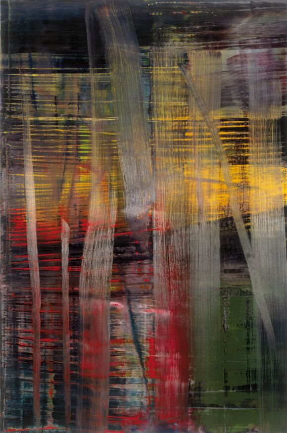 'Wald (Forest) 892-4' by Gerhard Richter, 2005