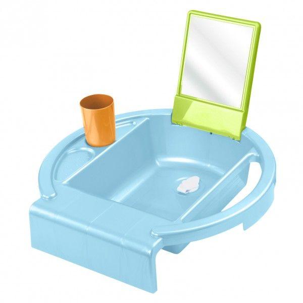 Kiddy wash gyermekmosdo vilagoskek-világoszöld