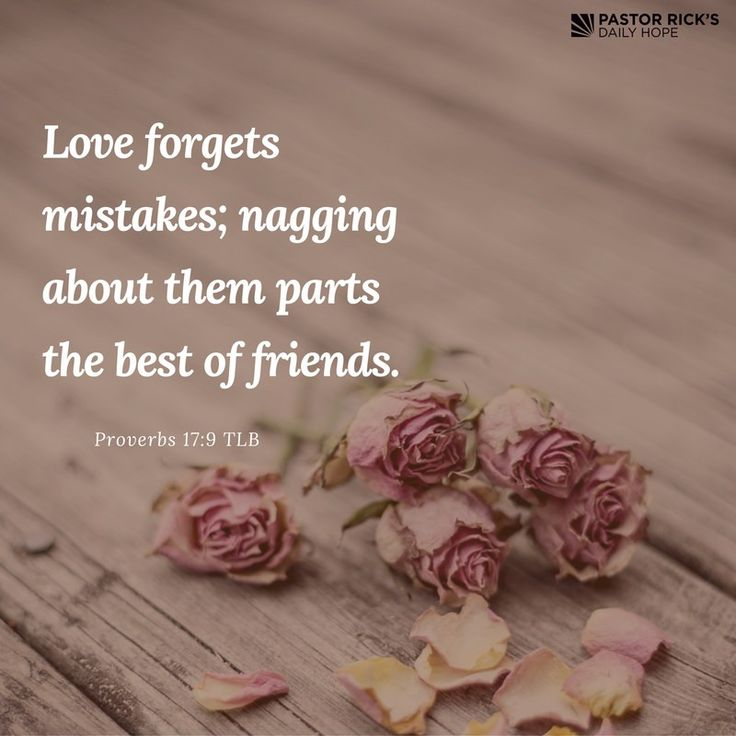 """Wise people give people what they need, not what they deserve. That's mercy, and that's wisdom. Wise people don't emphasize other's mistakes, because they are merciful.  Proverbs 17:9 says, """"Love forgets mistakes; nagging about them parts the best of friends"""" (TLB)."""