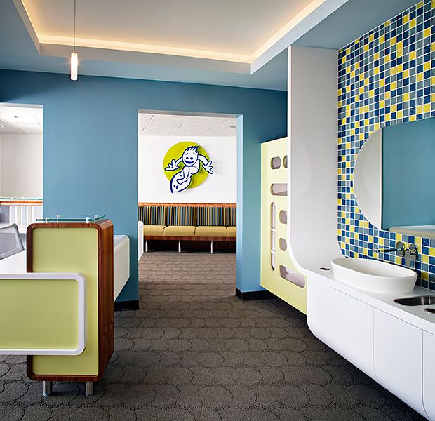 Hersch Pediatric Dentistry   Toothbrushing U0026 Checkout · Dental Office DesignHealthcare  ...