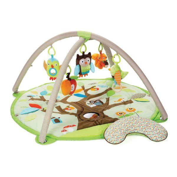 Gimnasio de actividades para bebé con animalitos del bosque Treetop Friends de Skip Hop