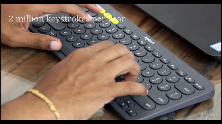 Connecting K380 Logitech Multi-Device Bluetooth Keyboard With Smart TV.  #Logitech #Keyboard #SmartTV #TV #Television #Gadgets #samsung