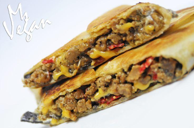 Vegan 'Grilled Stuft Nacho'