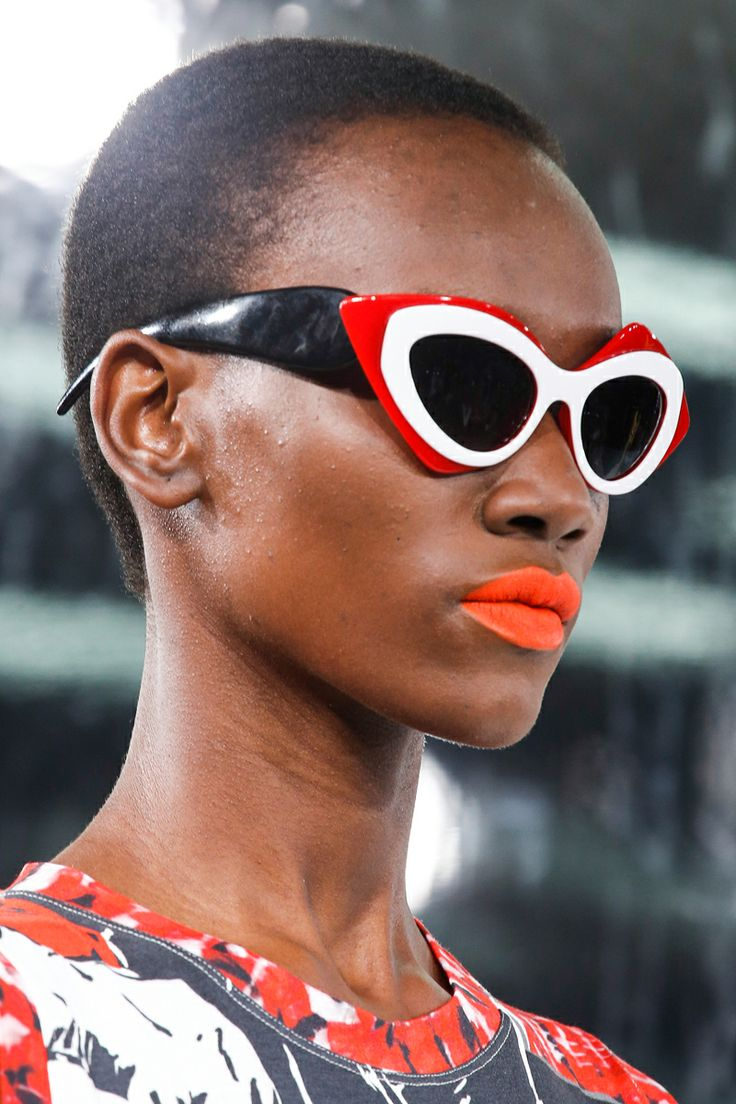 Orange Lips - Prabal Gurung SS14