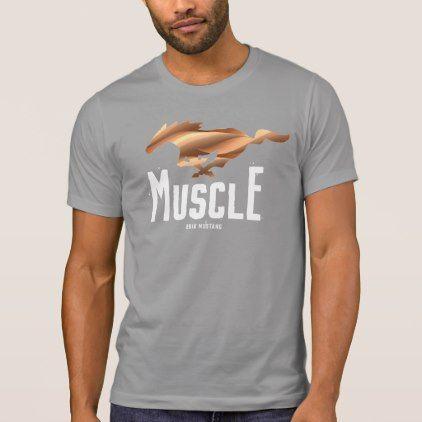 2018 Mustang T-Shirt - template gifts custom diy customize