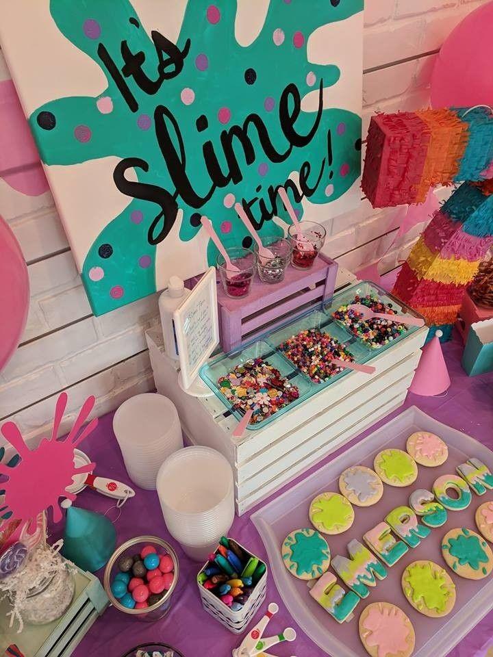 Slime Cake Cake Designs Birthday 9th Birthday Cake Birthday