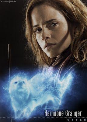 Harry Potter Cast Patronus    Hermione Granger