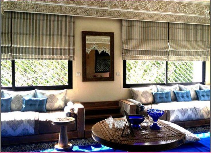 صالونات مغربية راقية من تصميم سمير الشاوي (1)