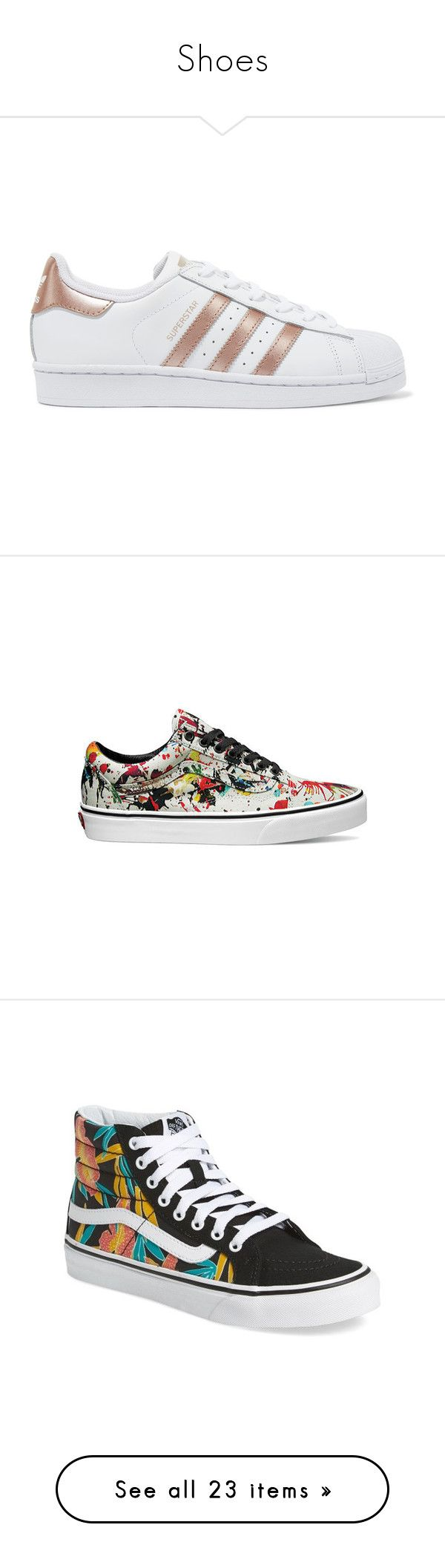 Shoes by ashykneesallison on Polyvore featuring polyvore, women's fashion, shoes, sneakers, adidas, lacing sneakers, leather sneakers, adidas originals sneakers, white lace up sneakers, white lace up shoes, sapatos, zapatillas, floral print shoes, sports shoes, leather low top sneakers, sport sneakers, sport shoes, casual footwear, casual shoes, black sneakers, black white shoes, white trainers, canvas sneakers, tropical leaves black, high top shoes, floral sneakers, black high top sneakers…