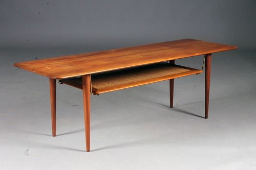 Hvidt & Molgaard solid teak sofa table. #danish #classic #quality #tables #coffee #home #style