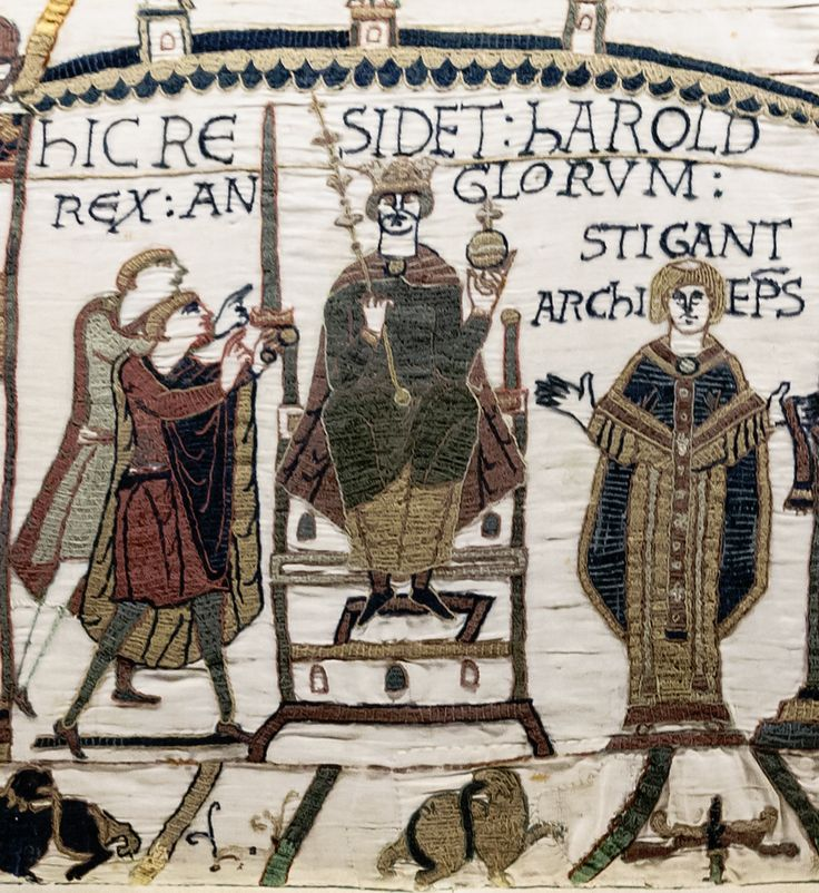 Harold II Godwinson, last Anglo-Saxon King of England (1022-1066) 30th great-grandfather.