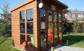 Shedworking: Reading huts
