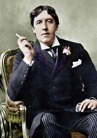 Oscar Fingal O'Flahertie Wills Wilde (1854-1900) was an Irish writer and poet.  After writing in different forms throughout the 1880s, he became one of London's most popular playwrights in the early 1890s. Today he is remembered for his epigrams and plays, and the circumstances of his imprisonment which was followed by his early death.  Oscar Wilde died on November 30, 1900, leaving a rich legacy of thought, an interesting body of work, and, obviously, plenty of quotable lines.
