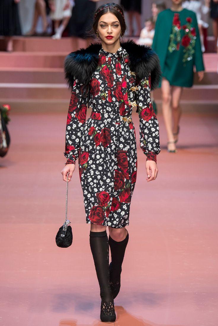 Dolce & Gabbana - Fall 2015 Ready-to-Wear - Look 78 of 91
