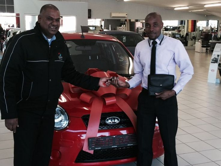 Congratulations Mr Shandu on your brand new Kia Picanto 1.1 We wish you all the best on your new adventure :)