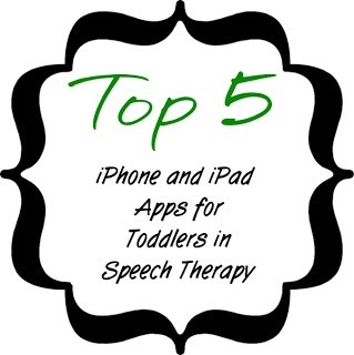 Toddlers in Speech Therapy: Top 5 iPhone and iPad Apps