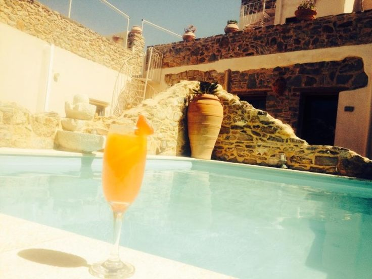 Enjoy your cocktail by the pool! www.cressa.gr #Crete #cocktails #Greece #sun