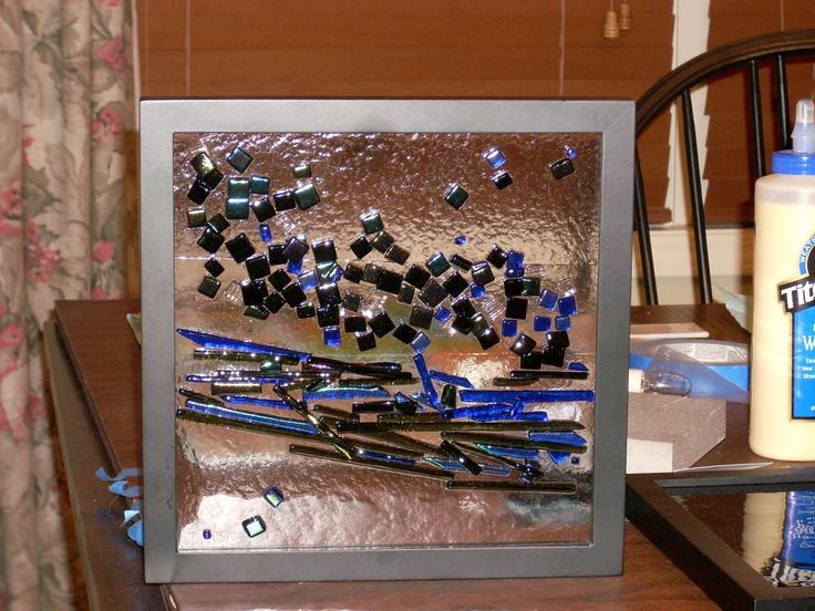 seascape, framed: Glasses, Frames, Seascape