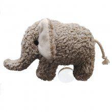 plü natur Spieluhr Elefant Baumwoll-Plüsch