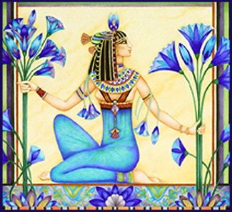 egyptian blue lotus - Google Search