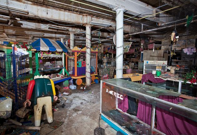 Childhood's Over: The Lonely Relics of an Abandoned Toy Shop