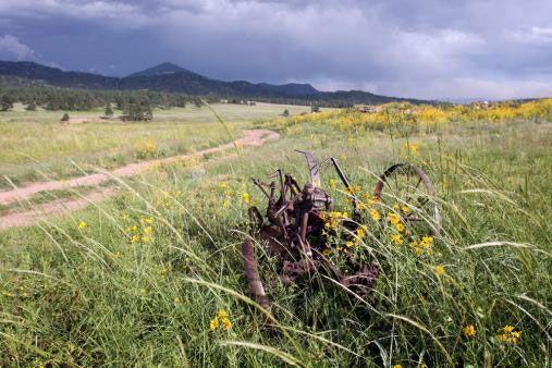 Gold Belt Scenic Byway near Cripple Creek, CO
