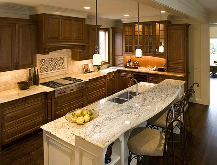 Pinterest the world s catalog of ideas for Gourmet kitchen islands