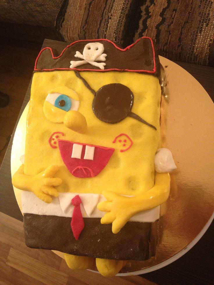 Cake Pirate Sponge Bob