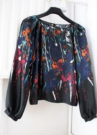 Kup mój przedmiot na #vintedpl http://www.vinted.pl/damska-odziez/bluzki-z-dlugimi-rekawami/12970239-luzna-bluzka-boho-style-na-wiosne
