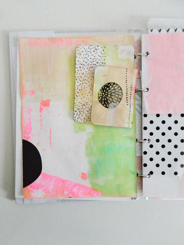 Paint blocks + inks by Boheme Circus at Studio Calico