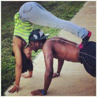 mexican guy black girl cute couples | couples #cute couples #aerobics #black couples