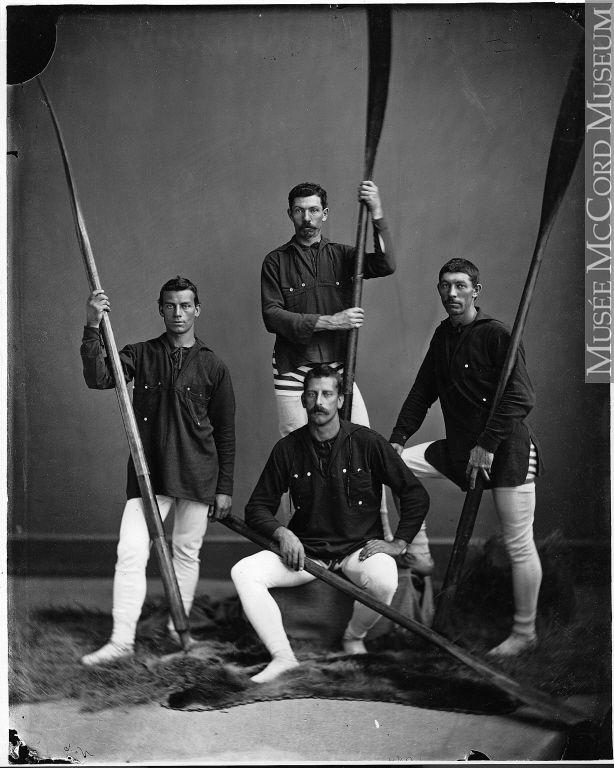 Rowing crew, Halifax, NS, 1871
