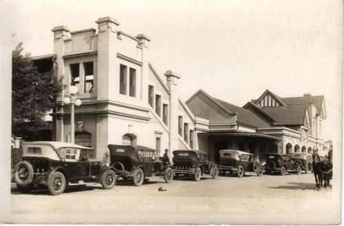 Estación Lomas de Zamora (FFCC Gral. Roca) año 1940 aprox