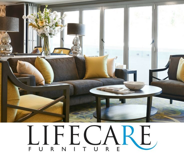 Aged Care project by Lifecare Furniture including Bond sofa and Coral sea chair. #agedcare #design #armchair #furniture www.lifecarefurniture.com.au