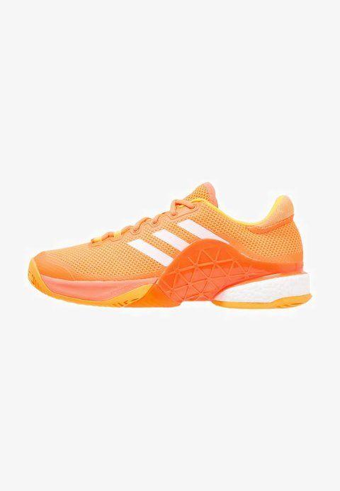 2b3ca43c Adidas Shoes Men glow orange/white/solar gold BARRICADE 2017 BOOST ...