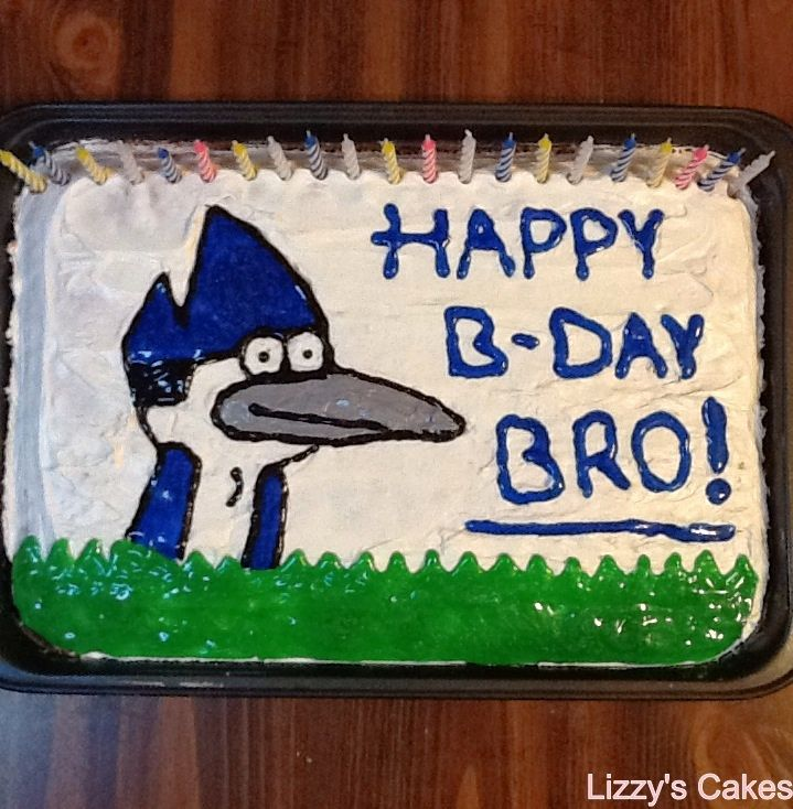 Images Of Birthday Cake Of Brother : 7 Best images about 2014 Birthday Cakes on Pinterest ...