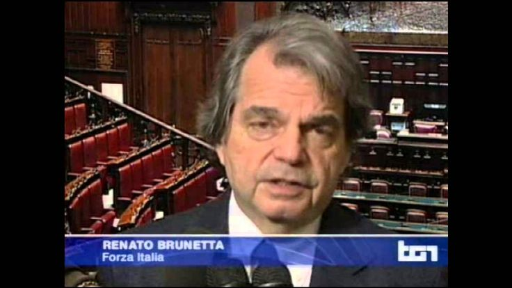 Renato Brunetta al Tg1 - 09/01/2014