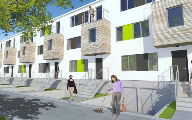 Apartamenty Ogrody - W skład inwestycji wchodzi 14 nowoczesnych apartamentów z tarasami, ogrodami i miejscami garażowymi. Każdy z typów apartamentów jest zaprojektowany tak by spełniać wszystkie niezbędne funkcje dla swoich mieszkańców. Wielkości apartamentów zaczynają się od 101,19 m2 konczywszy na wielości 136,73 m2.