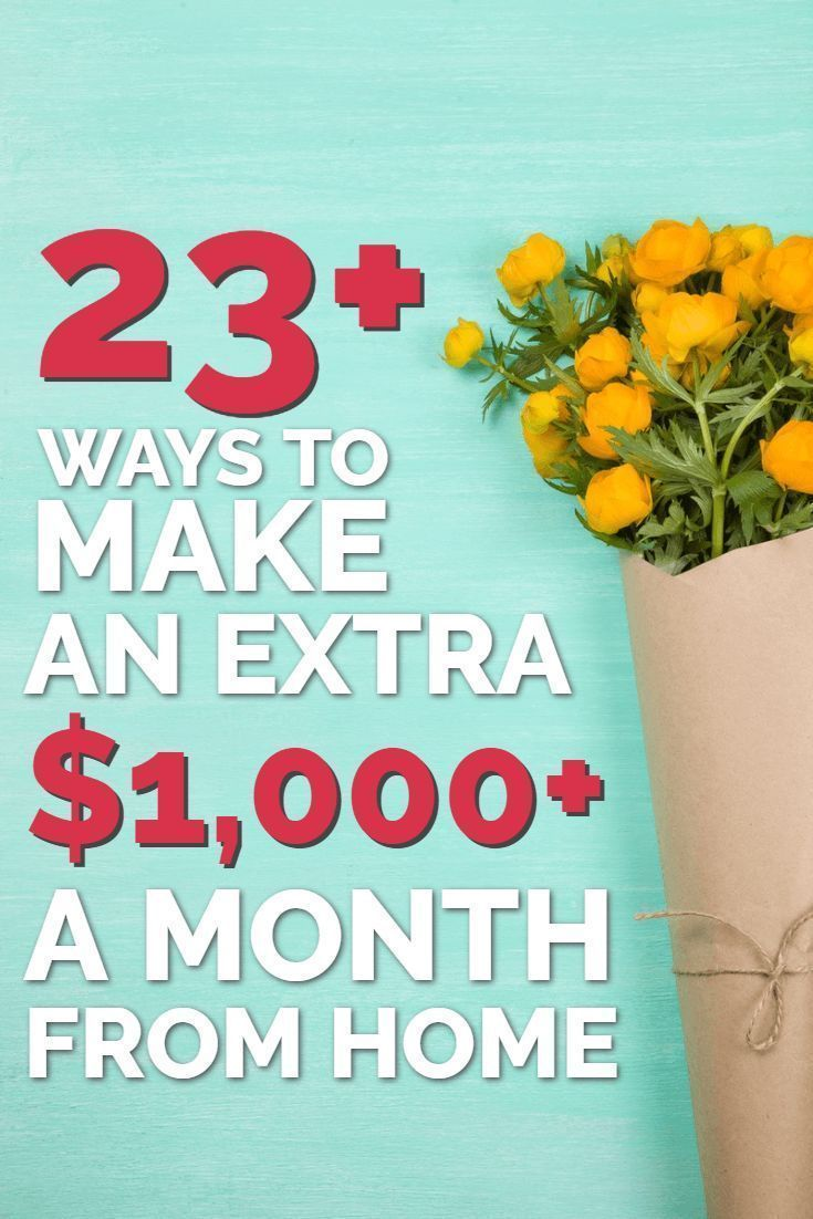 Make money at home with these 23+ proven home business ideas. You might be surprised to discover just how many ways there are for you to earn extra money from a side hustle - without having to give up your job. In some cases, these can even grow into full-time businesses - allowing you to earn more money than you might appreciate right now.