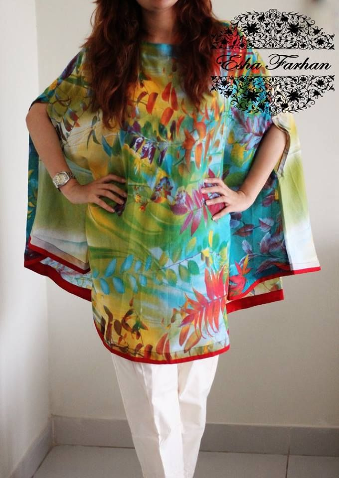 Pakistani cape dress