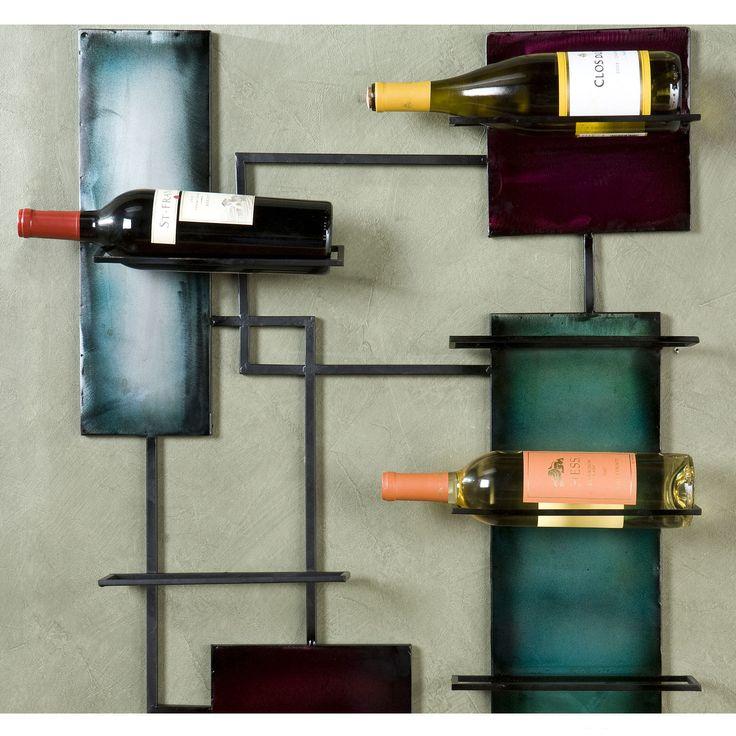 southern enterprises wine storage wall sculpture wine racks at hayneedle