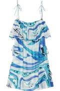 Emilio Pucci Aracaju printed beach dress on sale at Net-A-Porter for $766.50