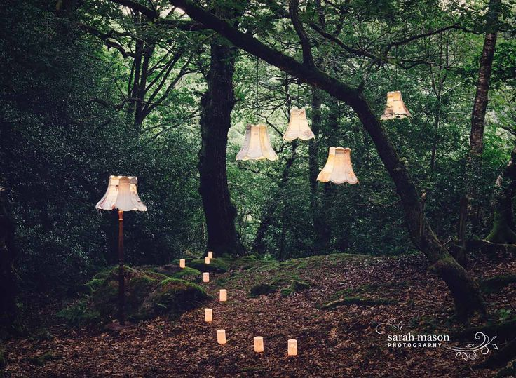 Our beautiful magical twilight photos shoot for Pretty Nostalgic magazine last year. Photo by Sarah Mason. Jennifer Collier lamps from Radiance