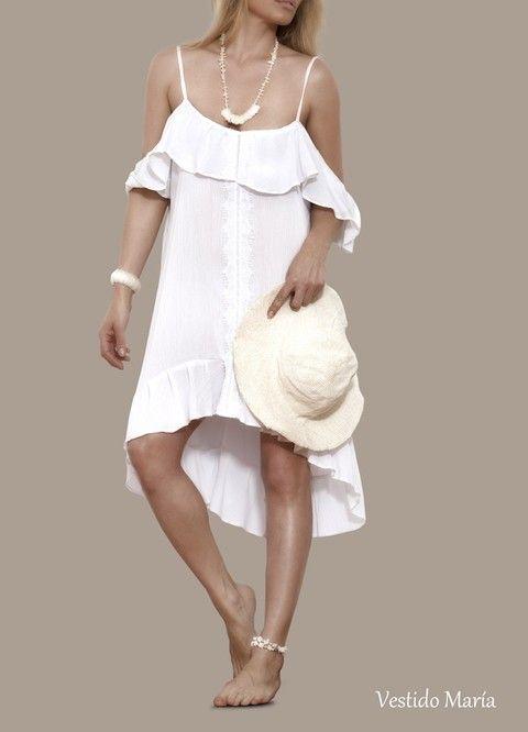 Vestido playero Maria
