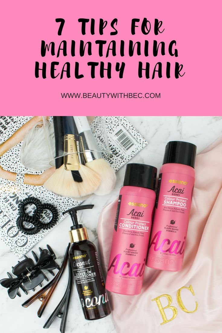 tips for maintaining healthy hair