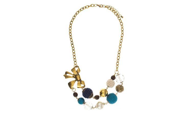 Romantic Blue Necklace!  PARFOIS| Handbags and accessories online